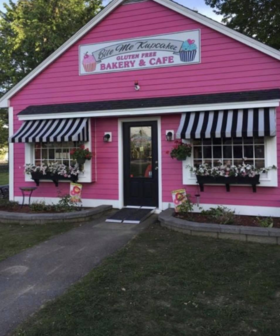 pink cupcake shop